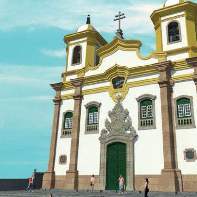 Obra: Revitalização da Igreja São Francisco de Assis • Local: Mariana / MG